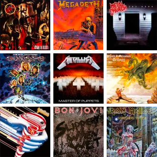 Scopri gli album usciti nel 1986