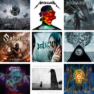 Scopri gli album usciti nel 2016