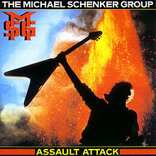 The Michael Schenker Group - Assault Attack