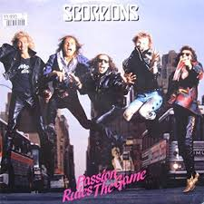 Scorpions - Passion rules the games