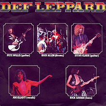 Def Leppard - Wasted