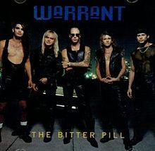 Warrant - The bitter pill