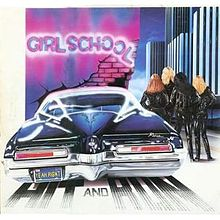 Girlschool - Hit and run