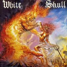 I Won't Burn Alone - White Skull